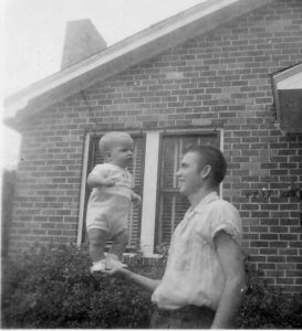 Me and My Dad circa 1957