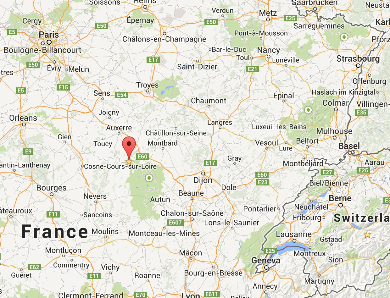Vezelay France Map.Vezelay Adventures In Tour Guiding Blog Destinations