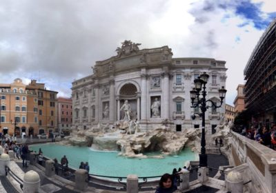 14-100 Trevi Fountain