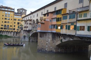 The Ponte Vecchio and River Arno