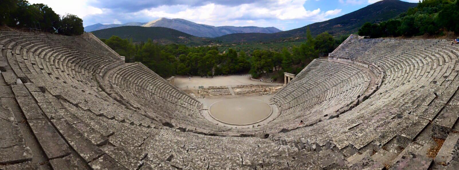 43 Epidavrous theatre