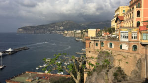 coastline of Sorrento