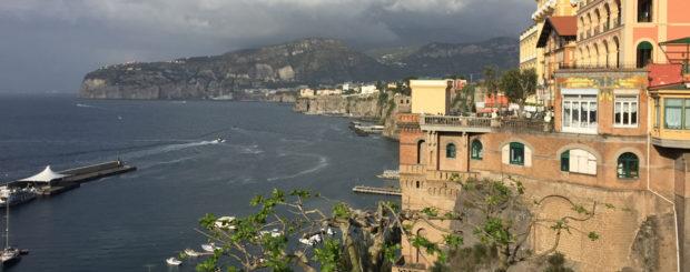 coastline of Sorrento