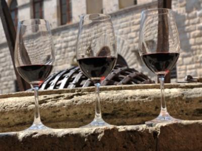Vino nobile wine glasses